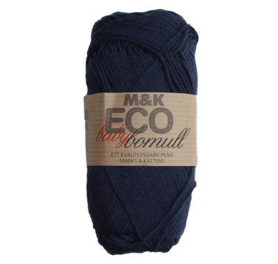 M&K Eco babybomull Blå - 917-887
