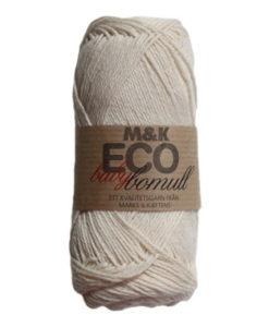 M&K Eco babybomull Natur - 901-882