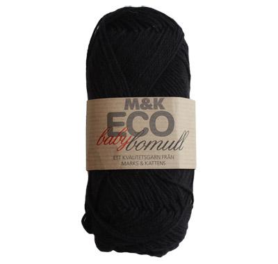 M&K Eco babybomull Svart - 900-890