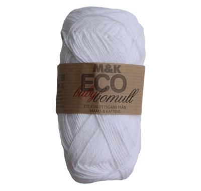 M&K Eco babybomull Vit – 912-879