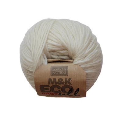M&K Eco Babyull Vit - 173-574