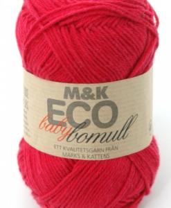 M&K Eco babybomull Röd - 905-2045