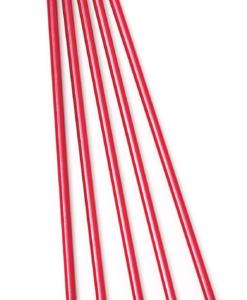 Strumpstickor 4.5mm 20cm Röd Alum - 86025-2116
