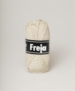 Freja är ett populärt akrylgarn att både sticka och virka i. Freja finns i uppåt 50 olika färger inkl populära denimfärger