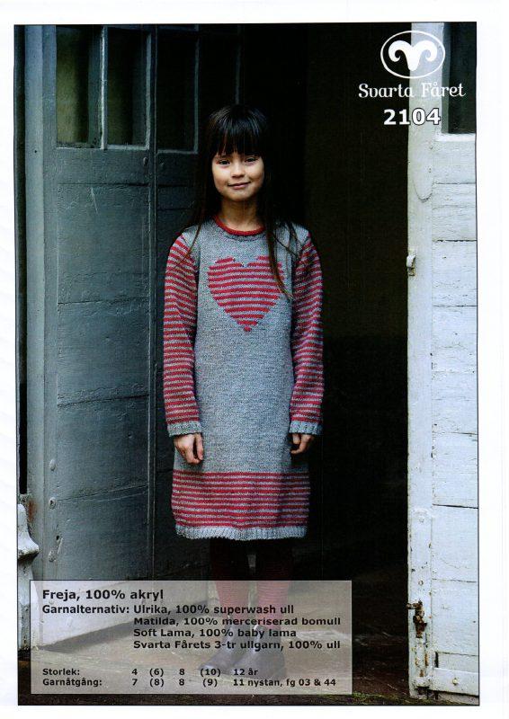 Svarta Fåret Freja 100% Akryl , Barnklänning 2104175