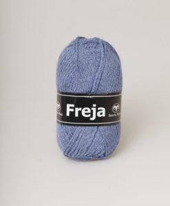 Freja är ett populärt akrylgarn att både sticka och virka i. Freja finns i uppåt 50 olika färger inkl populära denimfärge