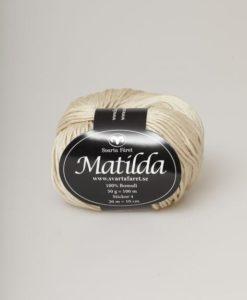 Svarta Fåret Garn 100% Bomull Matilda Beige - 07