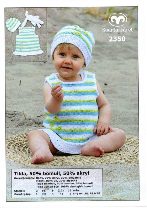 Svarta-Fåret-Tilda-Garn-50-Bomull-50-Akryl-Babyklänning-och-mössa-2350288-1131×1600-min
