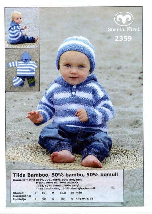 Svarta-Fåret-Tilda-Garn-50-Bomull-50-Akryl-Babytröja-med-huva-och-mössa-2359299-1131×1600-min