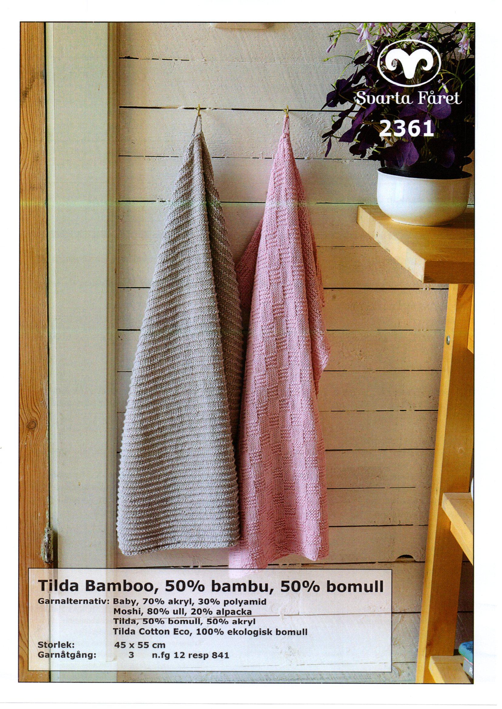 Mönster handuk