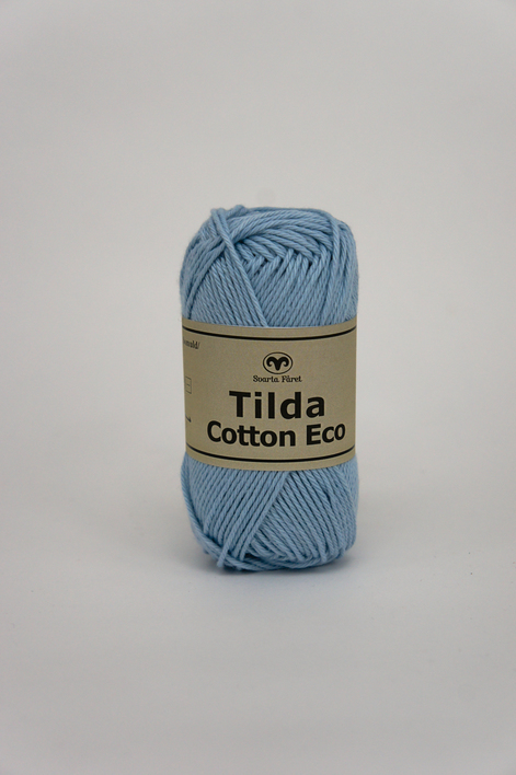 Tilda Cotton Eco Mini Ljus aqua 274