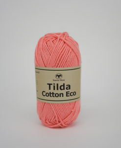 Tilda Cotton Eco Mini Ljus korall 236
