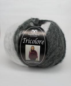 Tricolore svart/vit multi - Svarta-faret