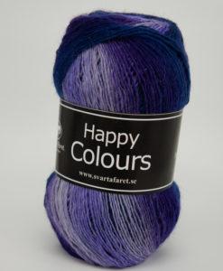 Garntorget Svarta Fåret Happy Colour Lila Multi 03