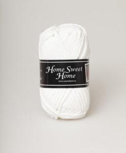 Garntorget Svarta Fåret Home Sweet Home Vit 04