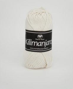 Garntorget Kilimanjaro Oblekt 305, 70% Bomull 30% Ull.Ett mjukt och härligt blandgarn med en blandning av bomull och ull. använd stickor 4 mm