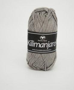 Garntorget Kilimanjaro Grå 308, 70% Bomull 30% Ull.Ett mjukt och härligt blandgarn med en blandning av bomull och ull. använd stickor 4 mm