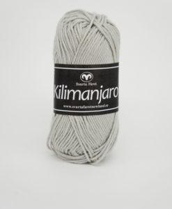 Garntorget Kilimanjaro Ljusgrå 312, 70% Bomull 30% Ull.Ett mjukt och härligt blandgarn med en blandning av bomull och ull. använd stickor 4 mm