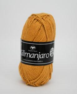 Garntorget Kilimanjaro Senap 336, 70% Bomull 30% Ull.Ett mjukt och härligt blandgarn med en blandning av bomull och ull. använd stickor 4 mm