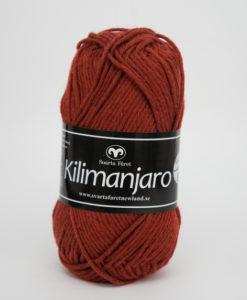Garntorget Kilimanjaro Rost 339, 70% Bomull 30% Ull.Ett mjukt och härligt blandgarn med en blandning av bomull och ull. använd stickor 4 mm