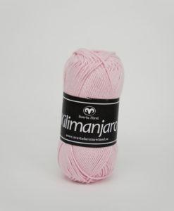 Garntorget Kilimanjaro Rosa 341, 70% Bomull 30% Ull.Ett mjukt och härligt blandgarn med en blandning av bomull och ull. använd stickor 4 mm