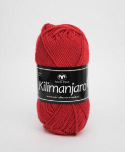 Garntorget Kilimanjaro Röd 345 70% Bomull 30% Ull.Ett mjukt och härligt blandgarn med en blandning av bomull och ull. använd stickor 4 mm