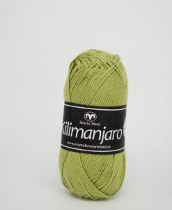 Garntorget Kilimanjaro Grön 383, 70% Bomull 30% Ull.Ett mjukt och härligt blandgarn med en blandning av bomull och ull. använd stickor 4 mm