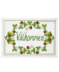 Garntorget Svarta Fåret Välkommen Bonad BS 2534
