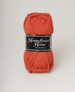 Garntorget Svarta Fåret Home Sweet Home Rost 38