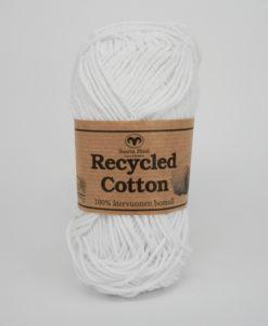 Garntorget Svarta Fåret Recycled Cotton Vit - 04
