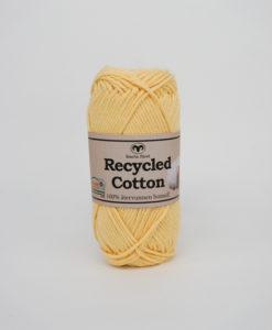 Garntorget Svarta Fåret Recycled Cotton Ljusgul - 33
