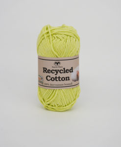 Garntorget Svarta Fåret Recycled Cotton Lime - 38