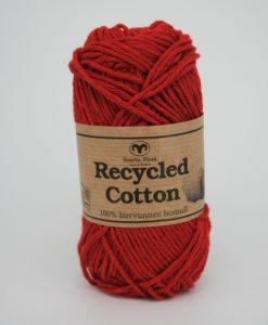 Garntorget Svarta Fåret Recycled Cotton Röd - 45