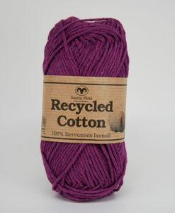 Garntorget Svarta Fåret Recycled Cotton Mörk Ljung - 63