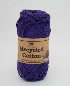 Garntorget Svarta Fåret Recycled Cotton Mörk Lila - 64