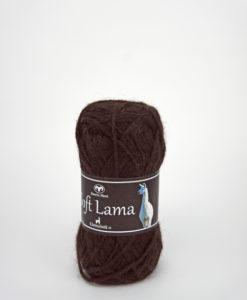 Garntorget Svarta Fåret Soft Lama Mörkbrun -28