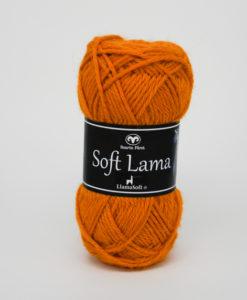 Garntorget Svarta Fåret Soft Lama Senap -31
