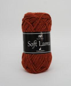 Garntorget Svarta Fåret Soft Lama Rost -39