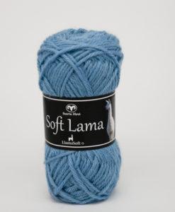 Garntorget Svarta Fåret Soft Lama Ljusblå -72
