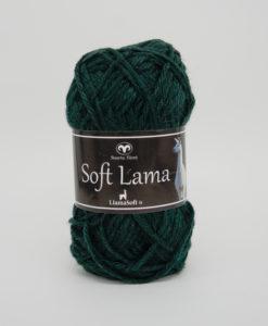 Garntorget Svarta Fåret Soft Lama Mörkgrön - 86