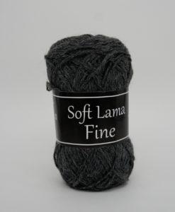 Garntorget Svarta Fåret Soft Lama Fine Mörkgrå - 908
