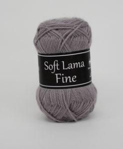 Garntorget Svarta Fåret Soft Lama Fine Grå - 912