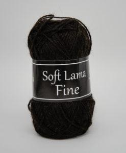 Garntorget Svarta Fåret Soft Lama Fine Mörkbrun - 928