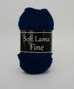 Garntorget Svarta Fåret Soft Lama Fine Mörkblå - 968