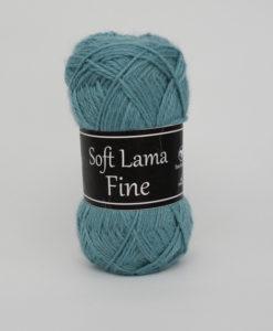Garntorget Svarta Fåret Soft Lama Fine Aqua - 980