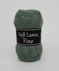 Garntorget Svarta Fåret Soft Lama Fine Grön - 984
