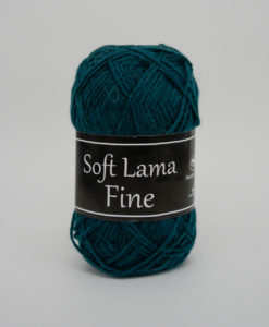 Garntorget Svarta Fåret Soft Lama Fine Mörkblå - 986
