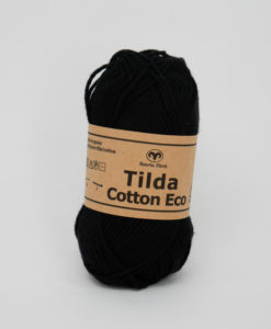 Garntorget Svarta Fåret Tilda Cotton Eco Mini Svart 201