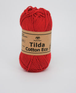 Garntorget Tilda Cotton Eco Mini Röd 245