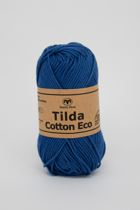 Garntorget Tilda Cotton Eco Mini Jeansblå 273